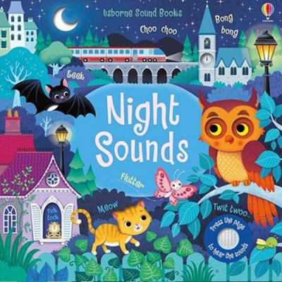 Touchy-Feely Sound Books:Night Sounds 夜晚聲音觸摸有聲書