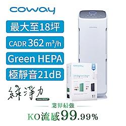 Coway 14-18坪 綠淨力直立式空氣清淨機 AP-