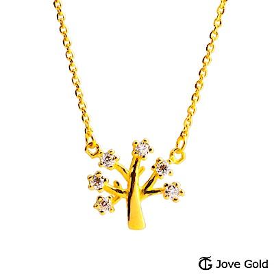 Jove gold 招財樹黃金項鍊