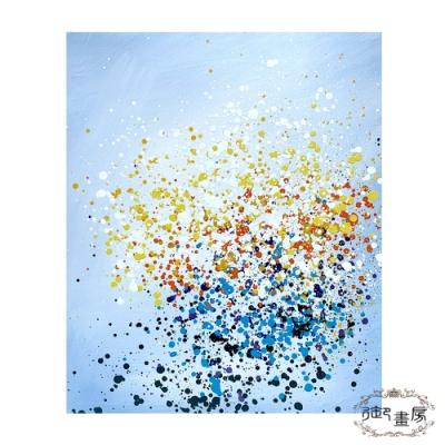 御畫房 手繪無框油畫-絢爛韶光 50x60cm