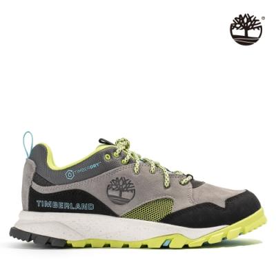 Timberland 女款灰綠配色絨面革防水健行鞋|A2AMT
