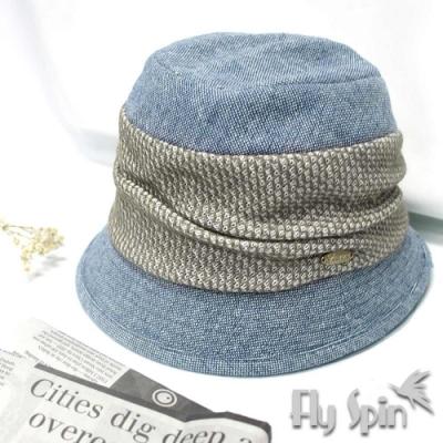 FLYSPIN秋冬保暖羊毛混紡優雅淑女漁夫帽