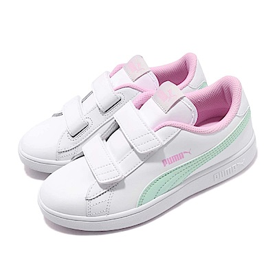 Puma 休閒鞋 Smash V2 L V 穿搭 童鞋
