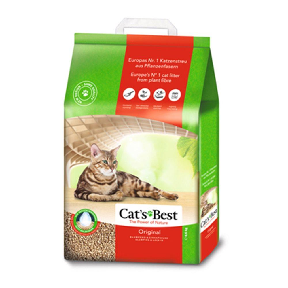德國凱優 CAT S BEST 紅標 凝結木屑砂 20L (8.6kg)