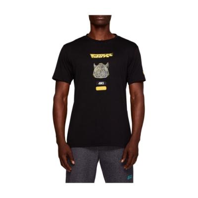 ASICS 短袖上衣 x 變形金剛聯名 2191A261-002(黑)