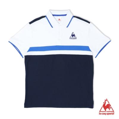 法國公雞牌短袖POLO衫 LOM2114639-男-藏青