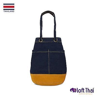 Loft THAI | U.MiniBucket | Navy/mustard