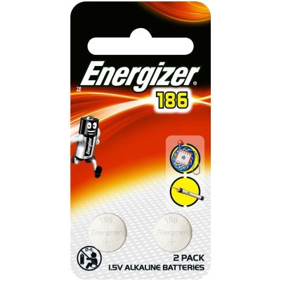 勁量  鈕扣型鋰電池186 (LR43) 2入/組
