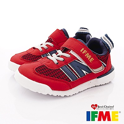 IFME健康機能鞋 超輕運動款 EI70712紅(小童段)