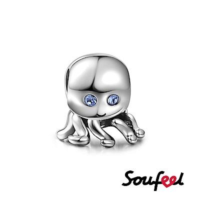 SOUFEEL索菲爾 925純銀珠飾 章魚 串珠