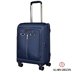ALAIN DELON 亞蘭德倫 20吋旅者風範系列登機箱(藍)