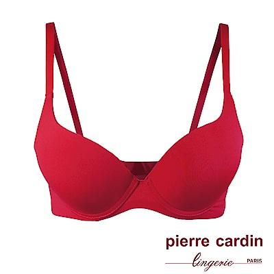 Pierre Cardin皮爾卡登 B罩 清涼感集中托高內衣(RED玫瑰紅)