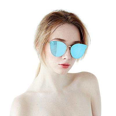 BVH 無框霧面金屬鏡架太陽眼鏡