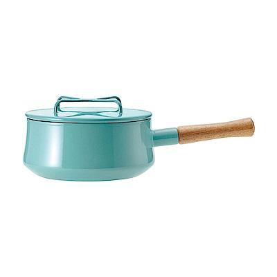 DANSK 琺瑯單耳燉煮鍋(藍綠色)