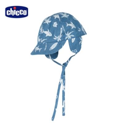 Chicco- TO BE BB-海灘鯊魚牛仔護耳棒球帽