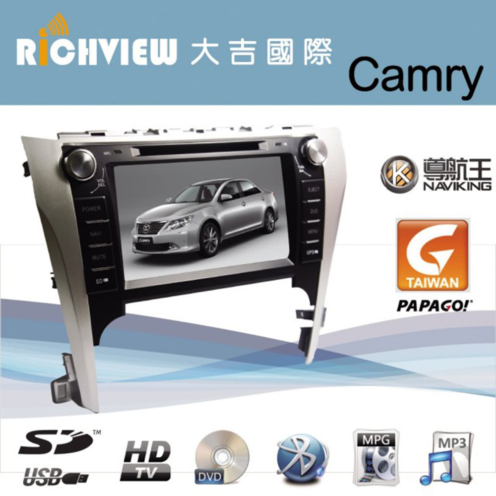 Camry AUTONET 專用汽車音響主機 藍芽 導航 影音 多功能