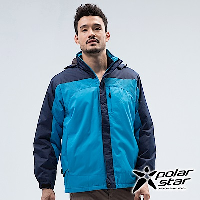 PolarStar 中性 防風保暖外套『水藍』 P18219