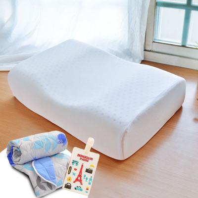(買二送二)LooCa 蝶型機能特大乳膠枕2入