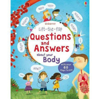 Questions And Answers About Your Body 翻翻學習書:身體的問與答