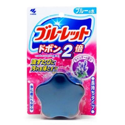 日本【小林製藥】星型馬桶芳香除菌靈-薰衣草