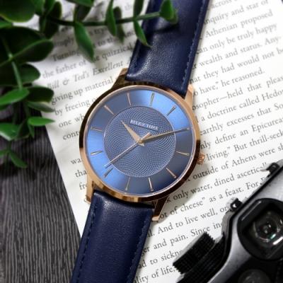 RELAX TIME Classic 經典系列 (RT-88-3M) 玫X藍/42mm