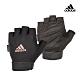Adidas Training可調式透氣短指女用訓練手套(粉) product thumbnail 2