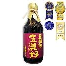 豆油伯 金美好無添加糖黑豆醬油 500ml (無麩質不含碘)