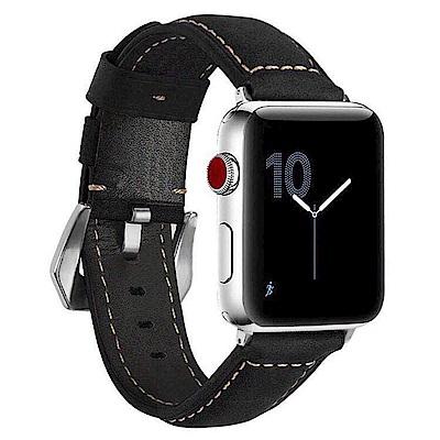 IN7 磨砂瘋馬紋系列 Apple Watch 手工真皮錶帶