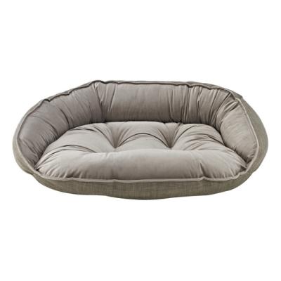 BOWSERS半月極適寵物睡床-鵝卵石紋XL