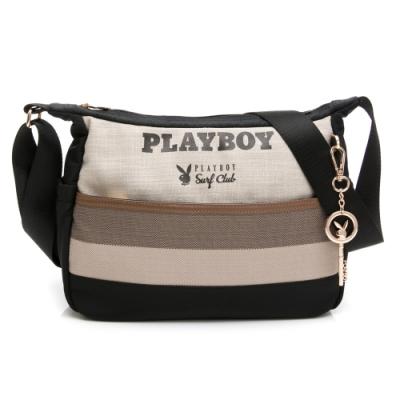 PLAYBOY-  斜背包 新時代系列 -黑色