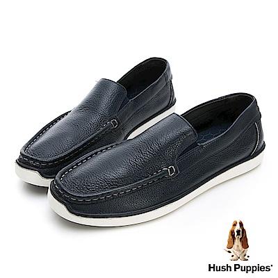 Hush Puppies TOBY 軟Q休閒鞋-深藍