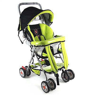 S-Baby 五點式多功能揹架推車(附軟墊)-兩色可選