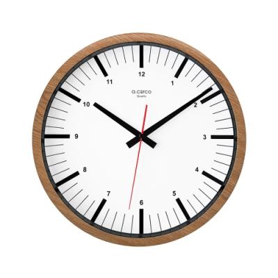 完美主義 極簡小數字設計款掛鐘/時鐘/壁鐘(2色)