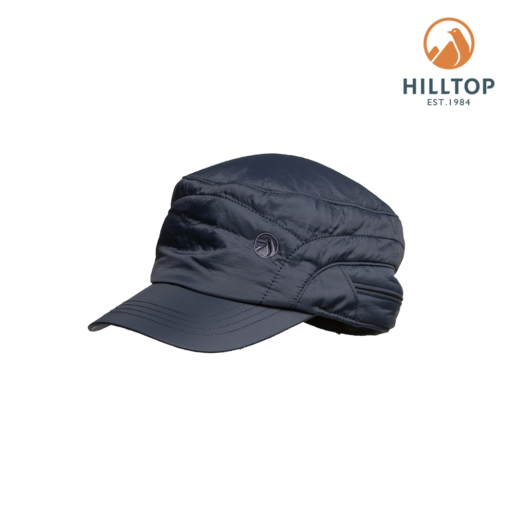 【hilltop山頂鳥】3M保暖科技棉遮陽帽H41XW3黑