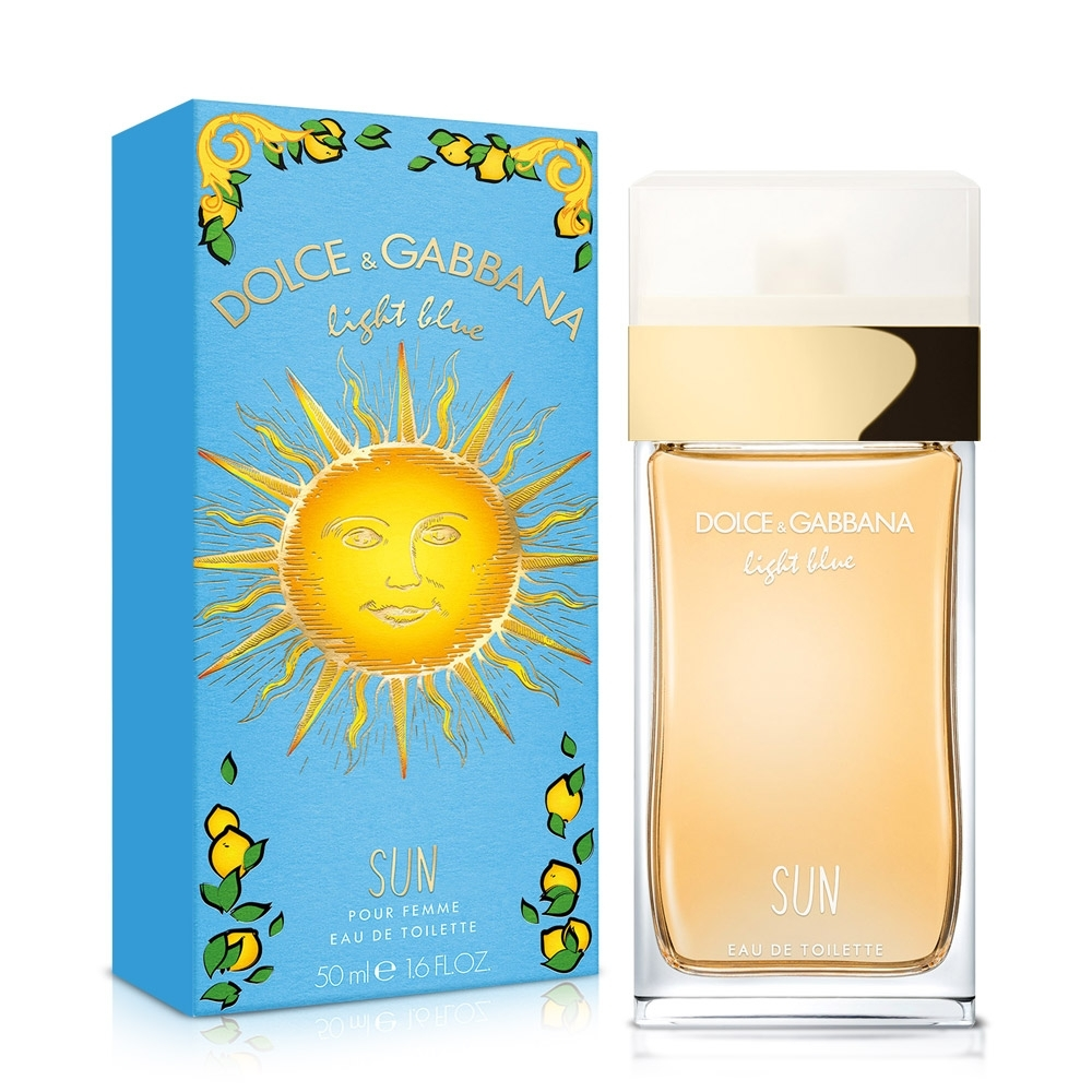 D&G Light Blue Sun Woman 陽光夏日女性淡香水50ml