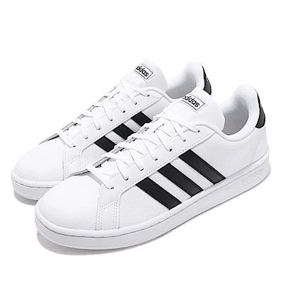 adidas 休閒鞋 Grand Court 運動 男鞋