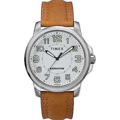 TIMEX 天美時 遠征系列 探險手錶-駱x白/40mm