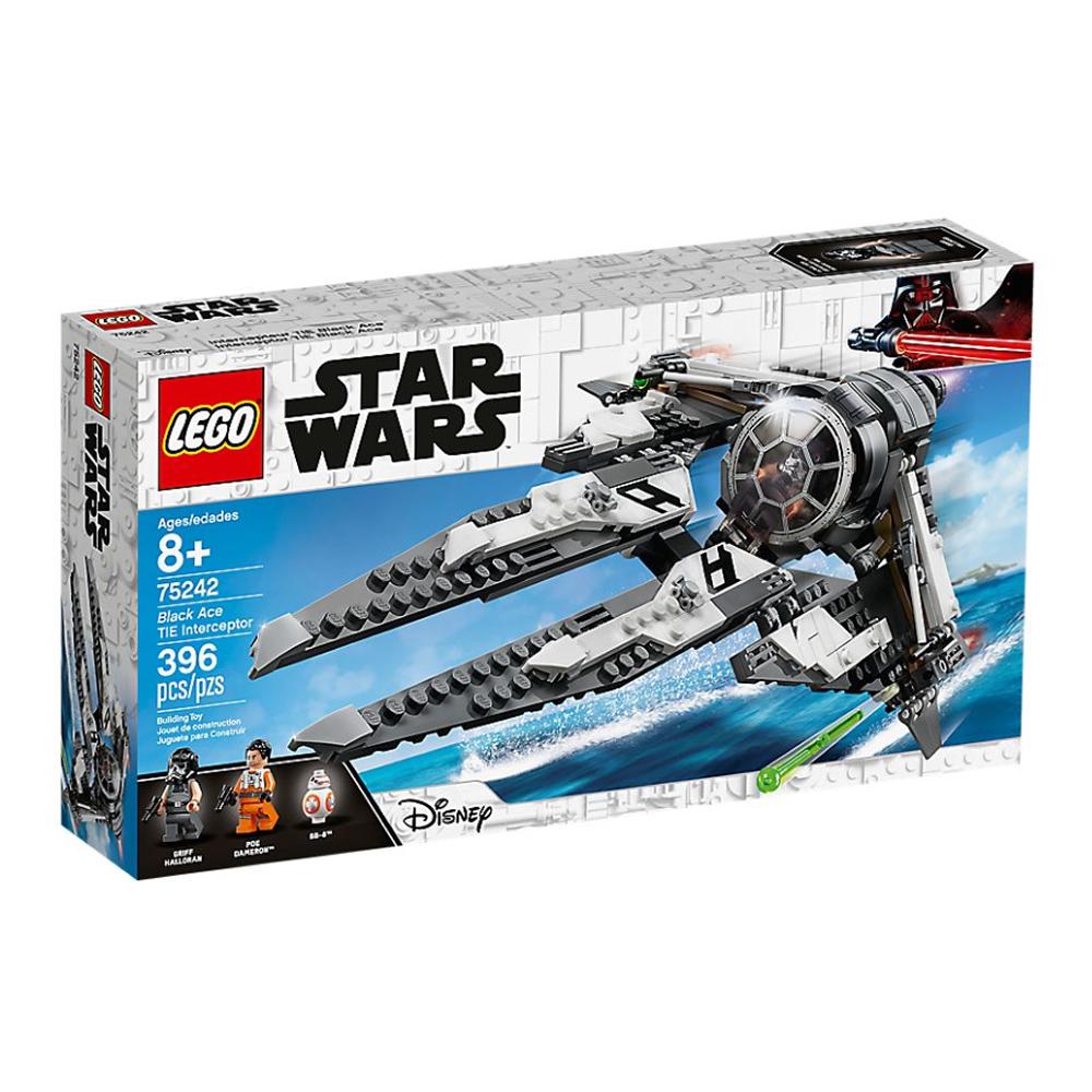 樂高LEGO 星際大戰系列 - LT75242Black Ace TIE Interce