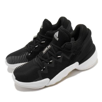 adidas 籃球鞋 DON Issue 2 GCA 男鞋 愛迪達 運動 緩震 透氣 NBA球星 黑 白 FW9042