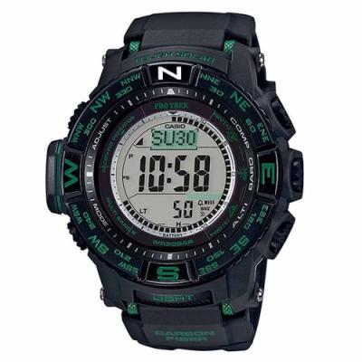 CASIO PRO TERK 電波光動能專業輕量化登山錶 PRW-S3500-1A
