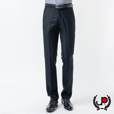 極品名店 層次品味仿毛平面西裝褲_灰(BW880-1)