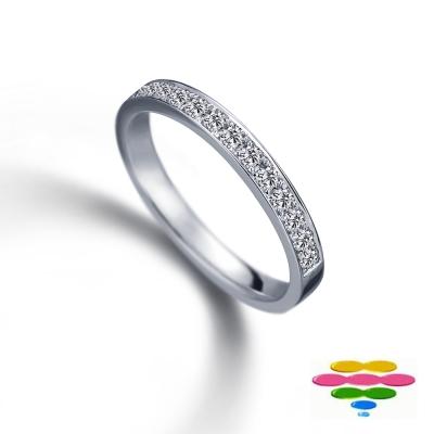 彩糖鑽工坊 鑽石戒指 線戒&排戒 Elegance 系列