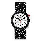 Swatch THINK FUN系列 POLKAPOP 點點時尚手錶
