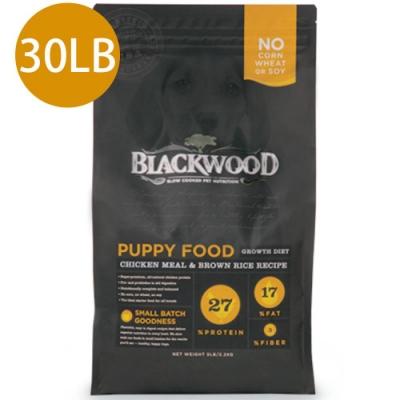 Blackwood柏萊富-特調幼犬成長配方(雞肉+糙米)30LB