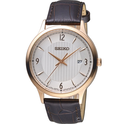 SEIKO 經典雋永紳士腕錶(SGEH88P1)41mm