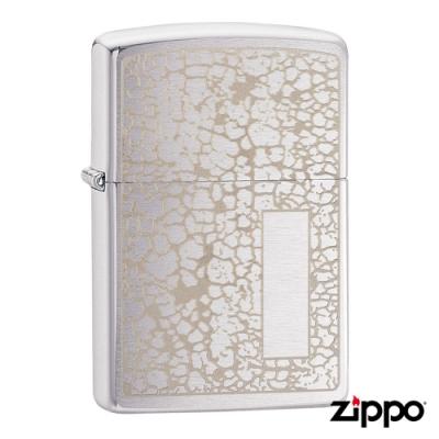 美系Zippo Crackle Pattern Design 金裂紋防風打火機49208