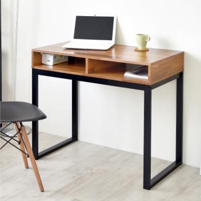 《HOPMA》DIY巧收復古工作桌-寬90x深50x高78cm