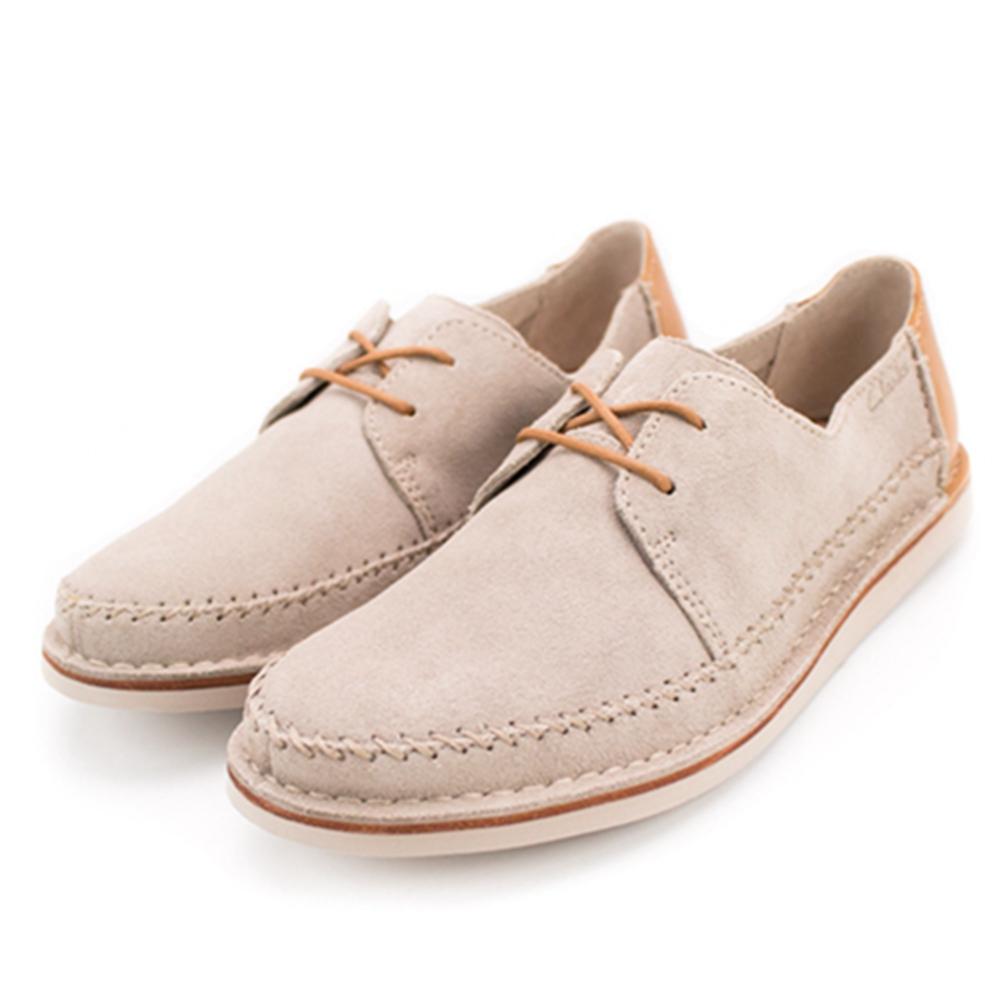 Clarks Brinton Craft 男休閒鞋 淺棕