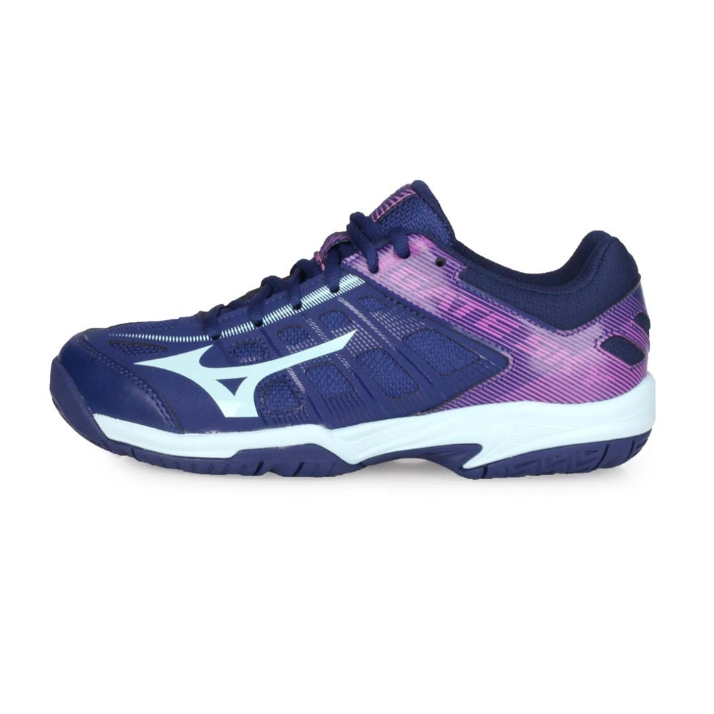 MIZUNO 男女 羽球鞋 GATE SKY 2 丈青紫湖綠