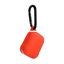 BUBM 必優美系列 AirPods 藍牙耳機收納保護套-橙色